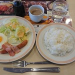 ジョイフル - 料理写真:モーニングエッグ ¥459-