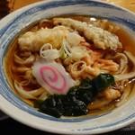 手打ちうどん はら - 料理写真:天ぷらうどん