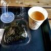 道の駅 ライスランドふかがわ - 料理写真:おにぎり(いくらしゃけ親子)& みそ汁