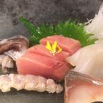 よし味 - トリ貝、インドマグロ、シャコ、クエ?、しめ鯖