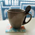 キーマカレー - セットメニューのホットコーヒーはカレー専門店とは思えないほどで、喫茶店並みに美味しいです。      2018.01.12