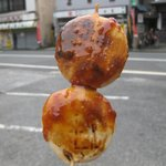 石田屋菓子店 - 味噌付けまんじゅう(140円)