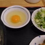 100010364 - 忘れちゃいけない生卵(笑)
