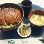 モン蓼科 - 料理写真:ソースカツ丼 950円