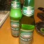 口福館 - 台湾ビールで乾杯です