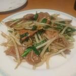 口福館 - レバニラ炒め