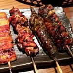 浅草うな鐵 - 料理写真:鰻串四種セット:1,740円