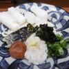 Chibuneya - 料理写真:エビと揚げもちぶっかけ