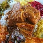 サンライズレストラン - 魚カレー