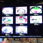 100018727 - 各店の混雑状況を伝えるディスプレイ('19/01/13)