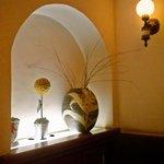 丸山亭 - 席横の装飾