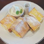 珈琲家暖香 - 料理写真:フレンチトースト