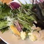 100021592 - ブリしゃぶの野菜。