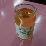 ラーメン 秦々 - カップワイン(白)