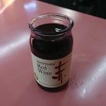 ラーメン 秦々 - カップワイン(赤)
