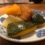 煮こみ屋   チョウチン - 南瓜と蕪の煮物