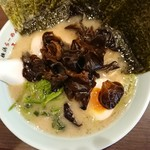 横浜らーめん 六壱家 - 料理写真:らーめん並+のり・キクラゲ増し