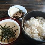 そば処 よしぶ - 単品のとろろ飯