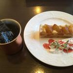 Hidamari - 料理写真:ケーキセット 780円