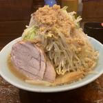 立川マシマシ - 中ラーメン750円(麺300g))