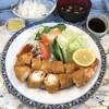 八千仙 - 料理写真:特大海老フライ定食1750円