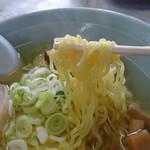 いずみ食堂 - 細ちぢれ麺
