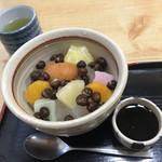 福寿堂 - みつ豆 ¥500