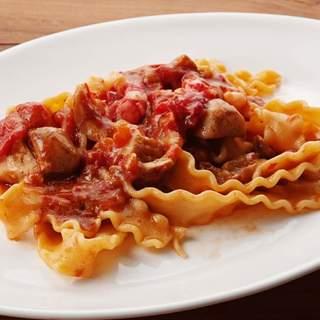 シチリア屋 - 料理写真:赤海老とポルチーニのヨランダ