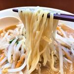 日高屋 - 味噌ラーメン麺リフト