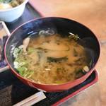 茶房 たんぽぽ - お味噌汁