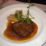 丸山亭 - 牛フィレ肉のペッパーソース