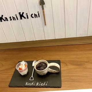 カシ キチ ホシノムラ - 料理写真:苺ミルクプリン280円 コーヒー 400円