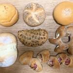パデ - 料理写真:今回買ったパン