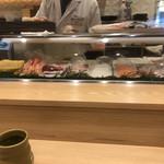 築地寿司岩 - カウンター