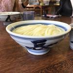 長田うどん - 丼もさながら 麺の色も美しい(〃ω〃)