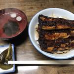 田代 - 鰻丼 上(4,100円)
