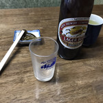 田代 - ビール(600円)