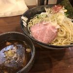 麺や真登 - 料理写真:濃厚つけ麺(¥780)+大盛(¥100)