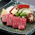 日本料理 磯風 - 和牛サーロインを使用したステーキ会席も大好評