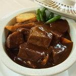 レストラン シャレー - ビーフシチュー