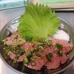 〇安 - 牛レバ刺し(低温調理)
