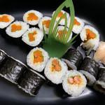 湊寿司 - ごぼう巻き