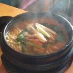 韓国家庭料理 宋 - ホルモンチゲ 辛さは普通