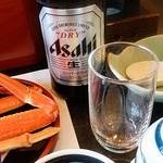 八光館 - 昼からビール(^_^)v