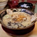 鹿児島ラーメン豚とろ - ■半熟煮玉子入り 豚とろ 889円