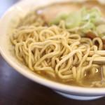 たかはし中華そば店 - 麺