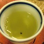 割烹よし田 - かけ茶 お茶としてのお味は極薄