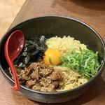 神戸灘八 - 美味しそうなぼっかけ混ぜそば¥850