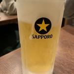 神戸灘八 - 凍っちゃってる生ビール¥500