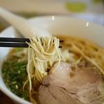 麺屋 菜々兵衛 - 麺は細目